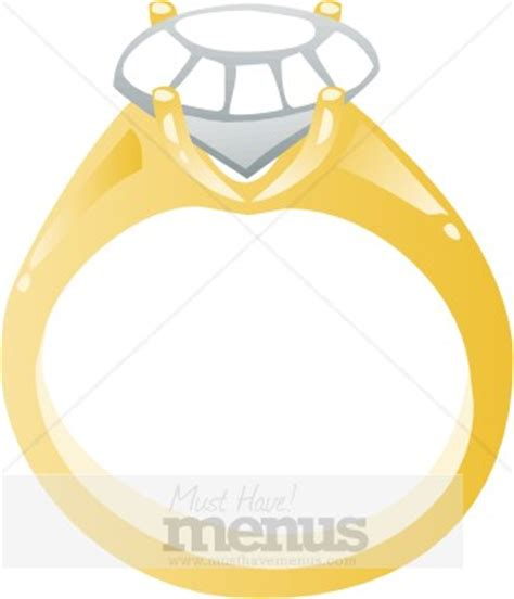 engagement ring clipart wedding clipart