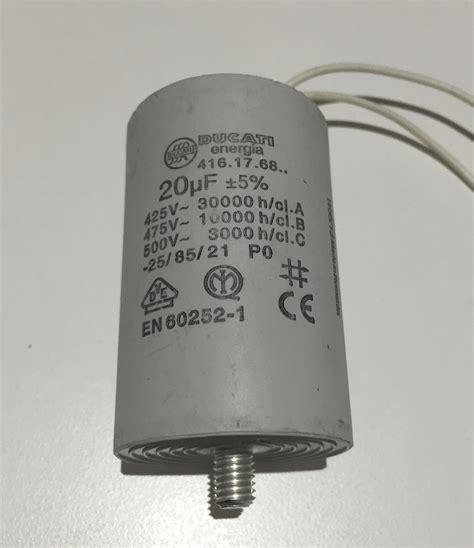 capacitor nanofarad to microfarad motor run capacitor 20uf white wires buy motor run capacitors