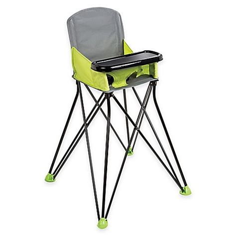 Summer Infant Pop N 39 Sit Portable Booster Green summer infant 174 pop n sit portable high chair in green grey bed bath beyond