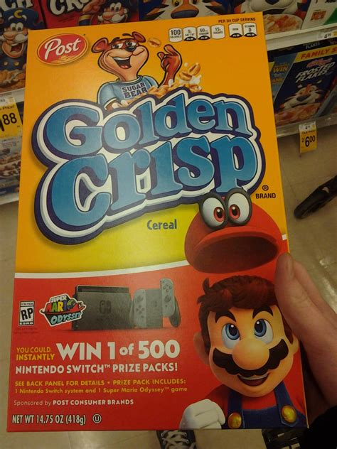 Post Sweepstakes Nintendoswitch Com - golden crisp cereal is doing a nintendo switch sweepstakes nintendoswitch