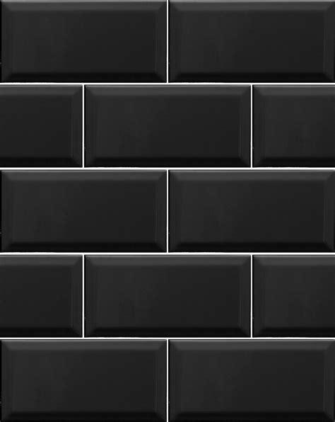 Metro black wall tiles kitchen tiles direct