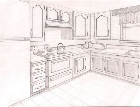 2 Drawings In 1 by 2pt Perspective Point Perspective Drawing Ideas Point