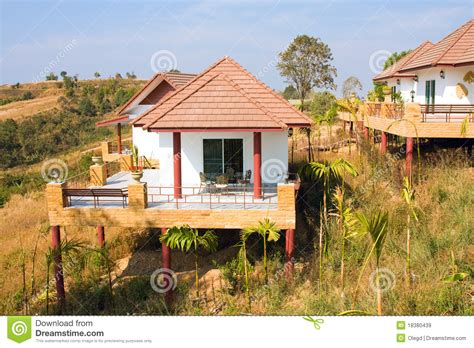 tropical house tropical beach house thailand royalty free stock images image 18380439