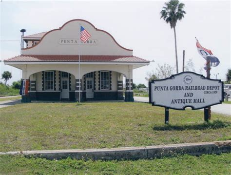 florida memory historic punta gorda railroad depot and
