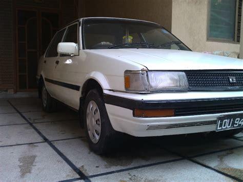 86 Model Toyota Corolla Toyota Corolla Model 86 White Color For Sale Lahore
