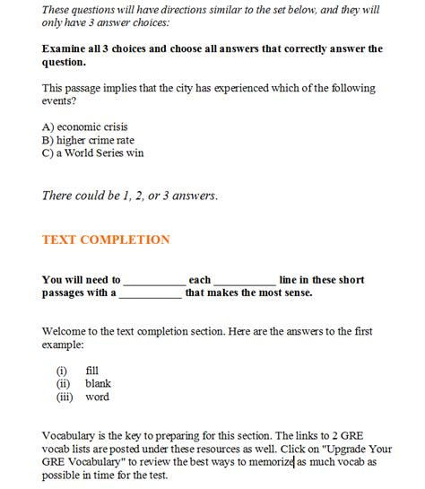 how to prepare for gre verbal section gre verbal section tips 28 images gre guide gradestack