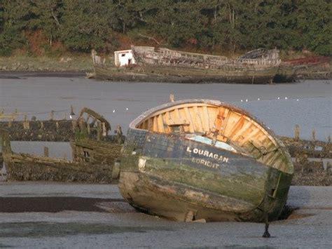 wooden boat graveyard wood boat graveyard kerhervy lanester morbihan france