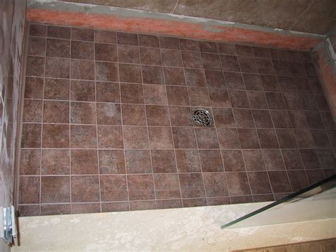 How To Tile A Bathroom Shower Floor How To Tile A Shower Floor 3