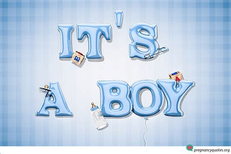 Its Boy 1 creative ways of using its a boy pics to announce your new baby pregnancy quotes