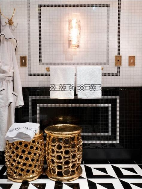 Gold And Black Bathroom Ideas All That Glitters Is Gold 10 Drop Dead Gold Bathrooms Betterdecoratingbiblebetterdecoratingbible