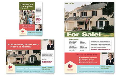 real estate agent print ads templates graphic designs