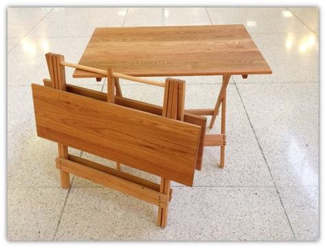 wooden collapsible kitchen table smith design making a