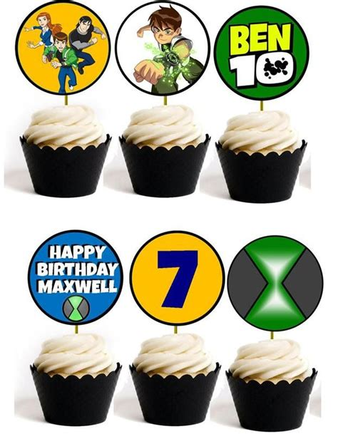 ben 10 printable party decorations 80 best projects to try images on pinterest papercraft