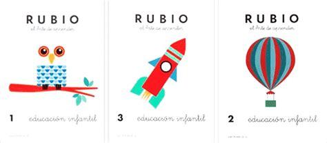 cuadernos rubio educacion infantil 8485109406 cuadernillos rubio para preescolar fichas educativas y cuadernillos