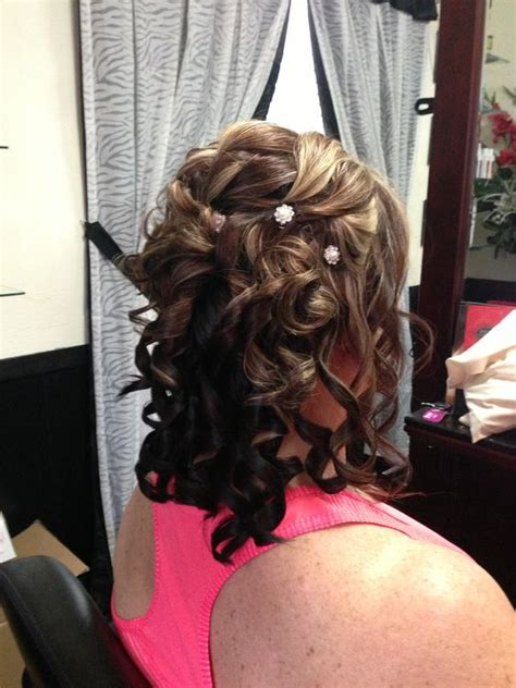 mother of the bride partial updos mother of groom half updo and updos on pinterest