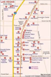Las Vegas Hotel Maps by Vegas Hotel Map
