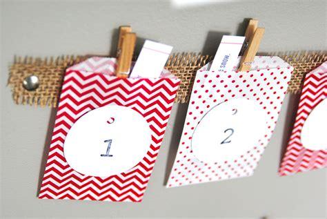 advent crafts for easy advent calendar craft idea