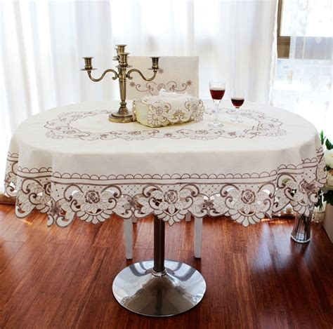tablecloth for oval table buy wholesale tablecloth oval table from china