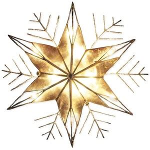 tree topper clipart image a gold star christmas tree