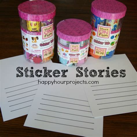 happy hour stickers dover stickers books sticker stories for with big imaginations
