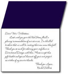 Gift Card Thank You Letter Exles Of Thank You Letters For Gifts Docoments Ojazlink