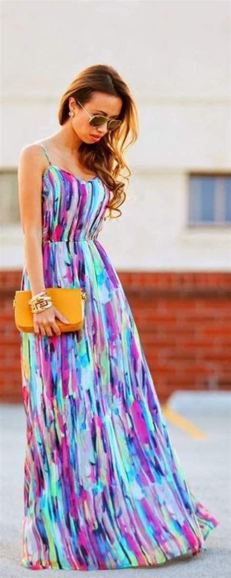 Bright Coloured Maxi Dresses - dresses trendy tops fashion shoes juniors clothing