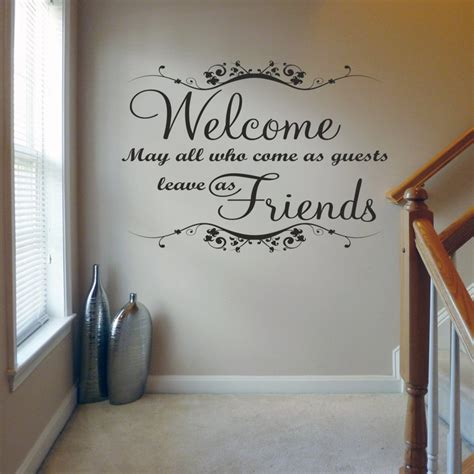 wall decals for guest bedroom wall decal good look guest room wall decals guest room sayings be our guest wall