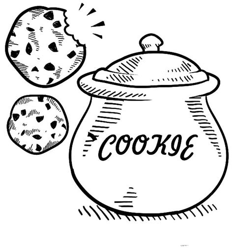 cookie jar coloring pages coloring pages ideas
