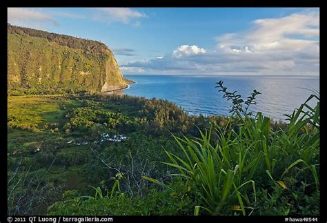 Hawa Acean Colour picture photo waipio valley and at big
