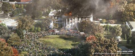 white house destroyed white house down portfolio image engine