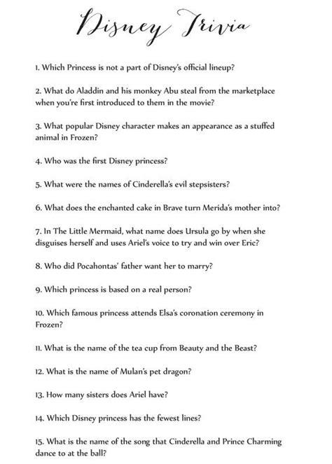 disney themes quiz disney trivia game cas trivia and disney