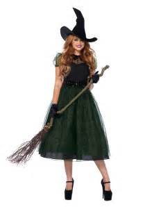 Haloween Costumes Darling Spellcaster Witch Costume