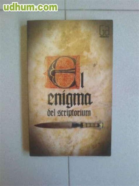 libro el enigma del scriptorium el enigma del scriptorium