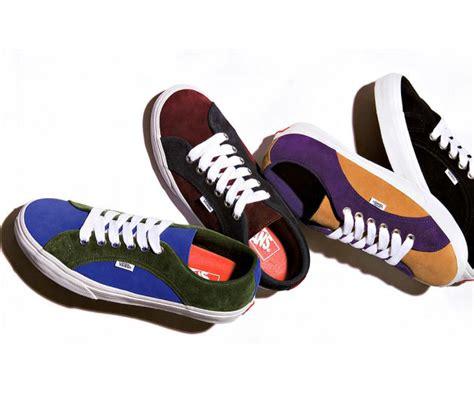 Sepatu Vans X Supreme vans lin hasil kolaborasi supreme vans ganlob