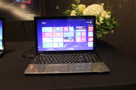 toshiba s satellite laptops get intel haswell new designs