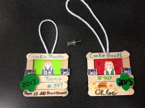 girl scout holiday ornaments craft ornament scouts scouts