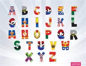 17 best ideas about superhero alphabet on pinterest