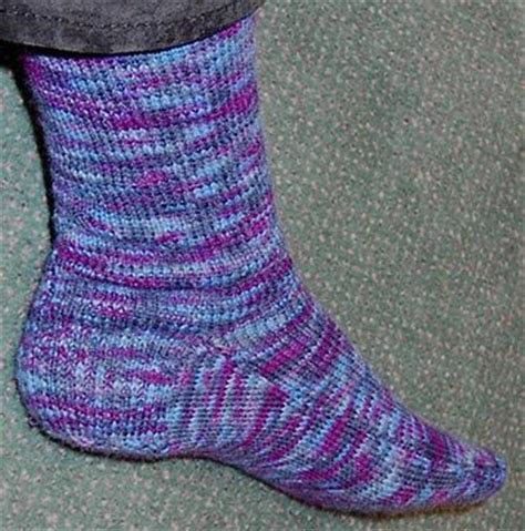 two needle socks pattern this is my favourite 2 needle sock pattern you can add a