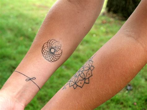 spirograph tattoo shopography uses logo tattoos for rebranding