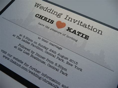Nyc Themed Wedding Invitations by 13 Best Graphic Design Orders Of Service Images On