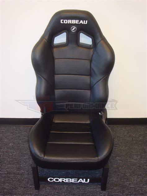 baja racing seats corbeau baja xrs black vinyl new reclining racing seat