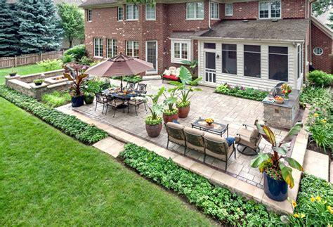 Garden Patio Designs And Ideas Prepare Your Yard For With These Easy Landscaping Ideas Better Housekeeper