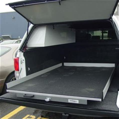 truck bed roll out a r e outfits the exterminator pest control truck with