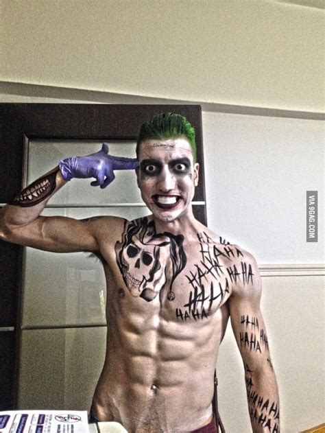 jared leto joker tattoo t shirt dress like joker suicide squad costume halloween and