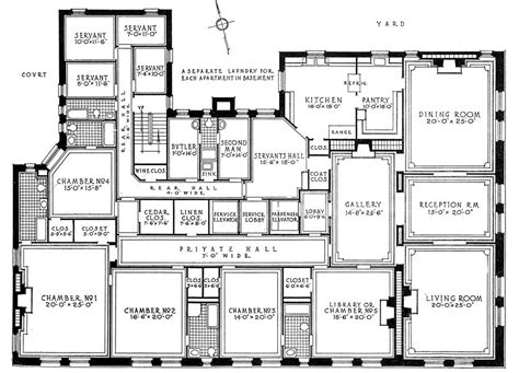 building floor plans nyc new york city brownstone floor plans