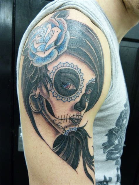 day of the dead skull tattoos for men day of the dead tattoos designs ideas and meaning