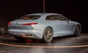 the new genesis car genesis hybrid sports sedan concept revealed news car