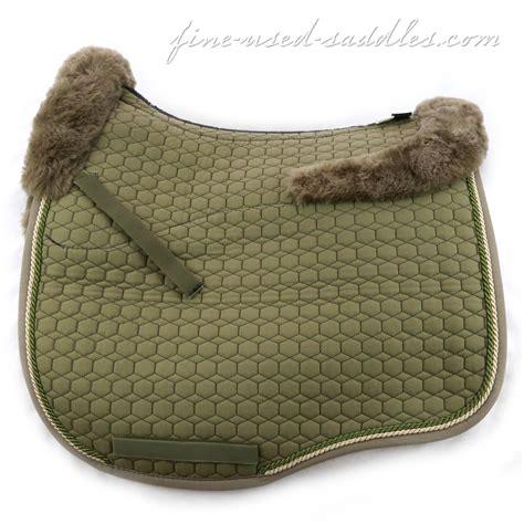 mattes pad mattes fit couture sheepskin dressage pad cypress green