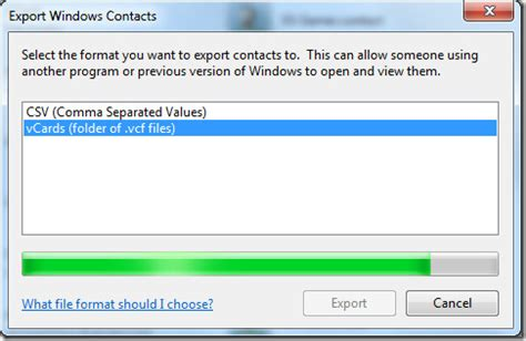 format export video windows 7 convert export windows contacts to vcf csv