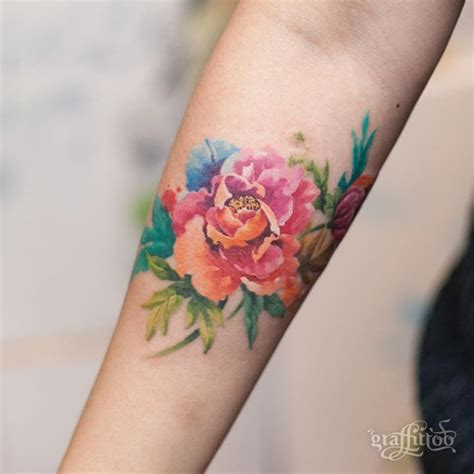 colored rose tattoos 25 best ideas about colorful tattoos on color